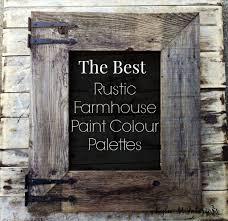 28 rustic paint colors the best rustic farmhouse paint rustic paint colors the best rustic farmhouse paint colour palettes for interior