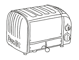 Cream 4 Slice Toaster Coolcozycovers Cozycoverup For Dualit Classic 4 Slice Toaster