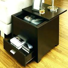 long side table with drawers end tables for the living room storage side tables charging end