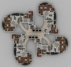solitaire luxury apartments in hathill mangalore landtrades duplex