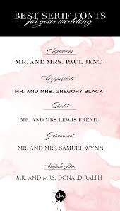 wedding invitations lewis font friday the absolute best serif fonts for your wedding
