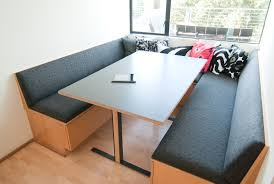 furniture u shaped black upholstered breakfast nook furniture