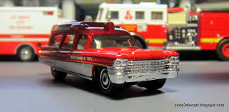 matchbox chevy suburban my code 3 diecast fire truck collection matchbox 1963 cadillac