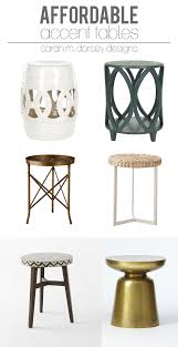 side accent tables remarkable accent side table sarah m dorsey designs affordable finds