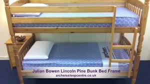 Julian Bowen Bunk Bed Julian Bowen Lincoln Pine Bunk Bed Frame