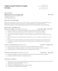 resume document format mechanical engineer sle resume