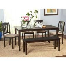 dining room tables with bench 6 pc dining set product description farmhouse 6 pc dining set bench