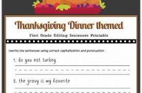 thanksgiving worksheets thanksgiving blessings