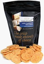 Amazon Com Mini Crisps Aged Parmasan Gourmet Cheese Crisps 1 75