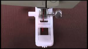 singer 1 step mechanical buttonhole presser foot tutorial youtube