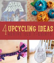 Upcycle Crafts - upcycling ideas 4 creative ways to upcycle t shirts diy projects