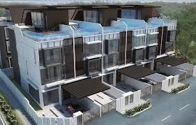 modern contemporary house plans modern terrace house design house floor plans architecture design