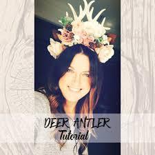 Deer Antlers Halloween Costume Deer Antler Tutorial Diy Deer Antlers