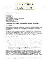 Cease And Desist Harassment Letter Template Cease And Desist Letter Defamation California Popular Letter 2017
