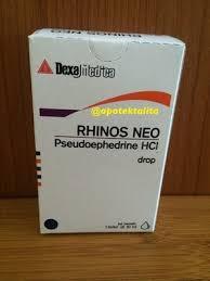 Obat Batuk Rhinos jual rhinos neo drops 10ml obat flu anak obat flu baby klinik