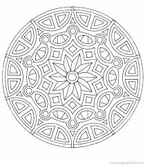 free mandala coloring pages children books