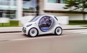 smart vision eq fortwo photos and info news car and driver