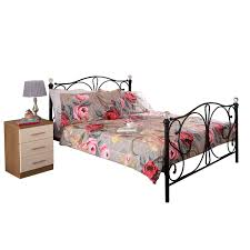 Metal Bed Frame Double Metal Beds U0026 Metal Bed Frames Next Day Select Day Delivery