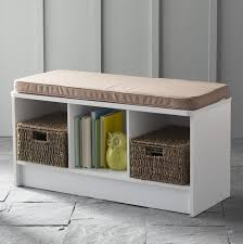 Bench Shoe Storage Closetmaid Cubicals Shoe Storage Bench Reviews Wayfair