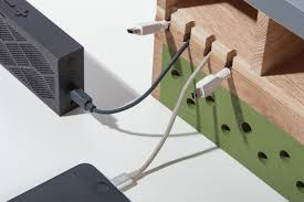 Cable Organizer Desk by