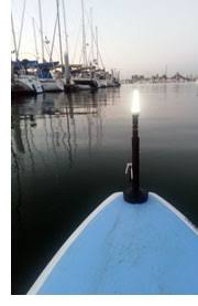 kayak lights for night paddling kayalite marine grade portable night navigation light for kayak