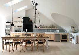 attic kitchen ideas white pine attic kitchen design interior design ideas