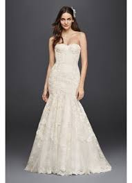 lace wedding gown corseted mermaid lace wedding dress david s bridal