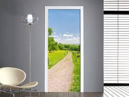 adesivi porta personalizza la tua porta adesivo sentiero di cagna