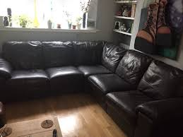 Leather Sofas At Dfs by Dfs Linea Corner Leather Sofa In Brighton East Sussex Gumtree