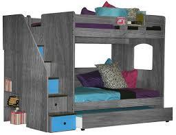 Glendale Full Over Full Stairway Bunk Bed - Full over full bunk bed