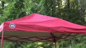 Instant Shade Awning Bravo Sports Shade Tech Instant Canopy Final Youtube