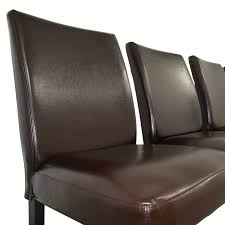 Ikea Furniture Online 32 Off Ikea Ikea Brown Leather Dining Chairs Chairs