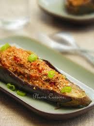 cuisine cr le antillaise aubergines farcies à l antillaise une plume dans la cuisine