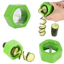 cucumber carrot vegetable peeler slicer spiral cutter kitchen