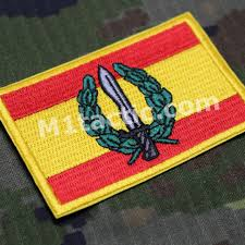Spain Flags Embroidered Spain Flag Patch M1tactic