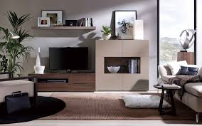 select the best suited wall unit designs for the living room then