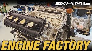 mercedes amg engine factory youtube