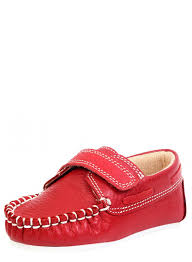 redcolor beanz boys red color aaron footwear shelltag com leather fashion