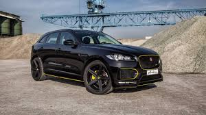 jaguar f pace blacked out arden beefs up the jaguar f pace with 410 hp