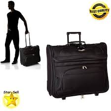 how to travel with a suit images Mens travel luggage rolling garment bag jacket suit suitcase