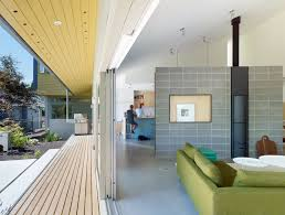 interior of a home a suburban vancouver home edits its privacy settings dwell