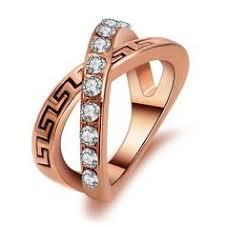 2pcs lot new arrival simple style ring cz men ring fashion precio anillo de compromiso oro blanco un anillo de compromiso