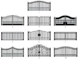 wrought iron fence colors wrought iron fence paint colors main