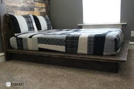 how to build a platform beds easy diy platform bed trendy