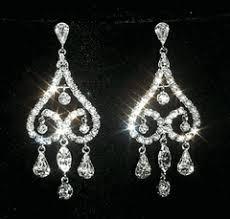 chandelier earring rhinestone earrings dangle wholesale