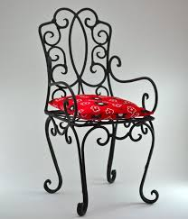 Small Bistro Chair Cushions Best 25 Wrought Iron Chairs Ideas On Pinterest Modern Irons