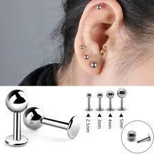 titanium stud earrings titanium stud costume earrings ebay