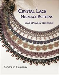 crystal necklace designs images Crystal lace necklace patterns bead weaving technique sandra d jpg