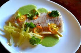 recettes de cuisine marmiton poisson papillote de poisson à la citronnelle et aux agrumes