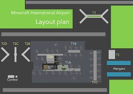 Bus Terminal Floor Plan Design Minecraft Innsbruck International Airport Terminal 1 Minecraft Project